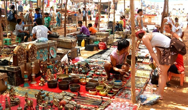small market in india